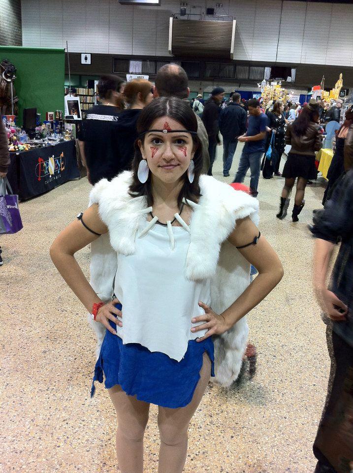 Princess Mononoke Cosplay by CheyenneAutumn on DeviantArt