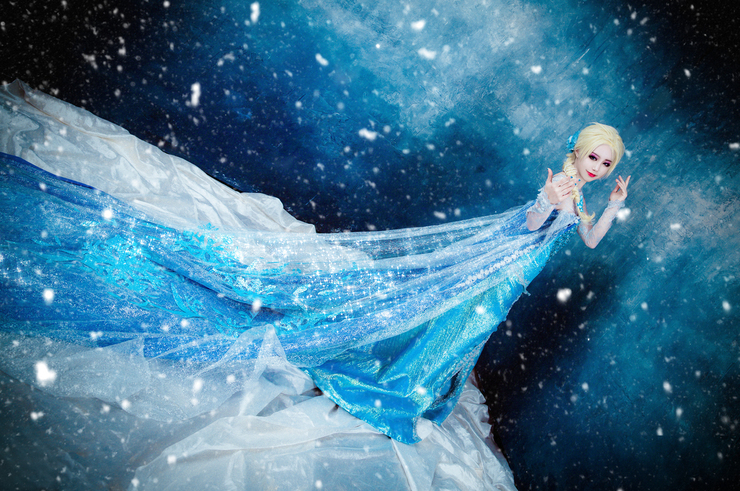 Queen Elsa by AnKyeol