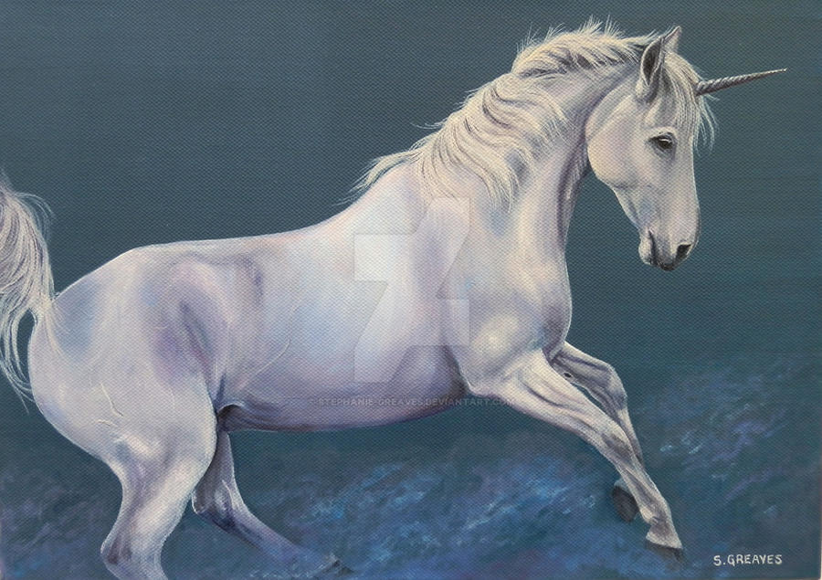 Unicorn Dreams by Stephanie-Greaves