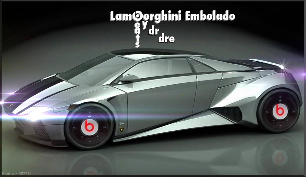 beats by dr dre V Lamborghini Embolado by CB3723