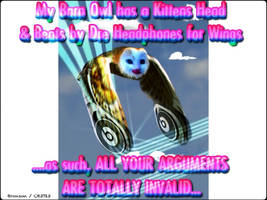 beats by dr dre - your argument is totally invalid by CB3723