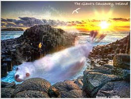 The Giants Causeway, Ireland by CB3723