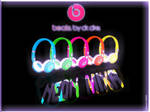 beats by dr dre neon mixr DJ headphones