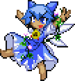 Touhoumon Custom Sprites - Tan Cirno by ShinyRaichu94