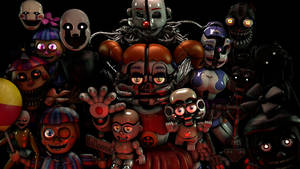 (FNaF/SFM) Humanoid Generations by PixelKirby340