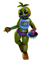 [FNaF/CollabEntry] Toy Chica Render by PixelKirby340