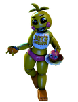 [FNaF/CollabEntry] Toy Chica Render
