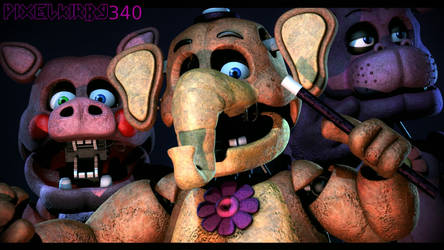 [SFM] FNaF1 Mediocre_Melodies Official Release by PixelKirby340