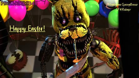 [FNaF/SFM] Happy Easter! NightmareSB + ST Release!
