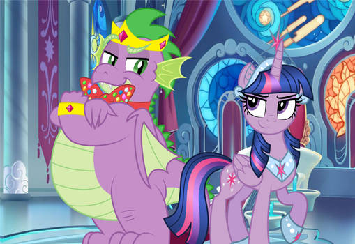 The Prince and Princess of Friendship