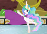 Celestia's let it go on ice