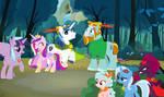 Shining Hood Wallpaper by DisneyMarvel96