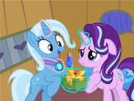Trixie's gift from Starlight by DisneyMarvel96