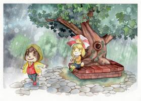 Rainy Days by couchmochi