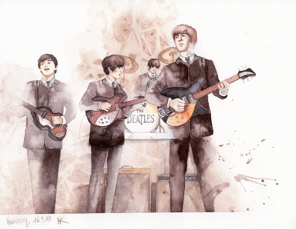 Beatles On Stage by couchmochi