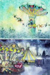 Beetle Carnival by couchmochi