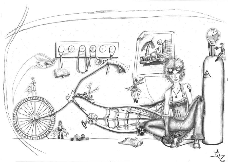 Bike Shop by Razamanaz
