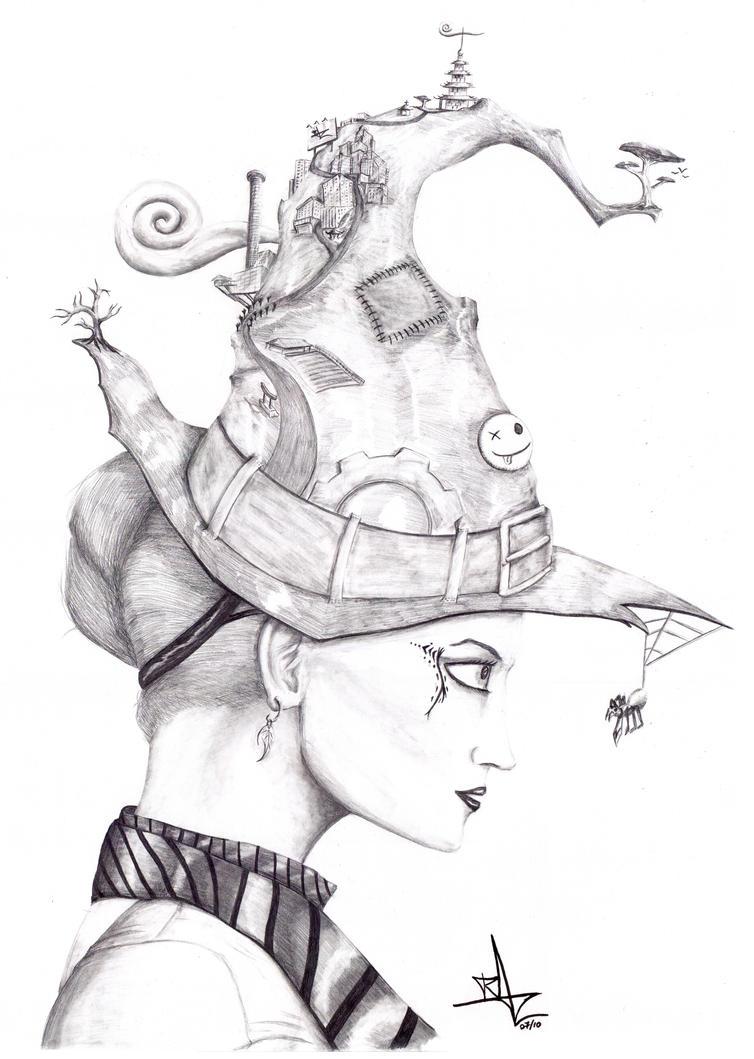 WitchHat by Razamanaz