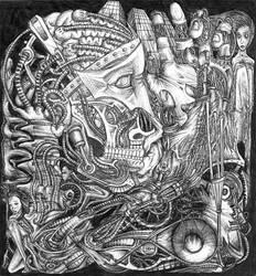 Humanoid Machinery by c4ligo