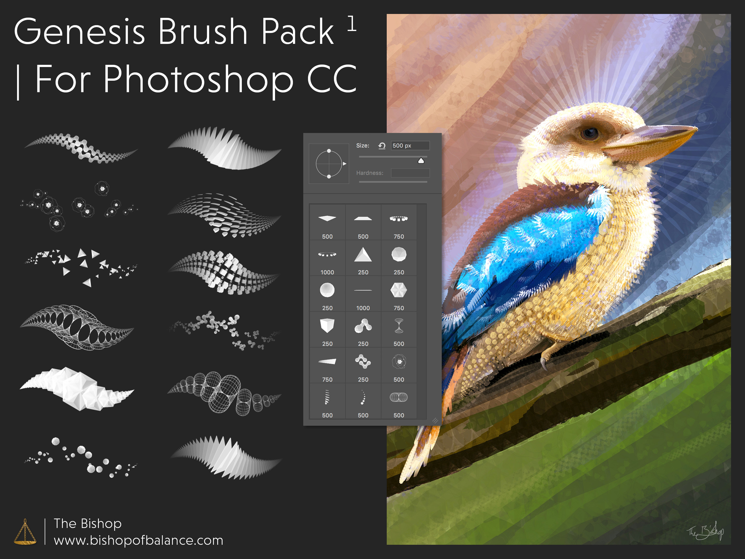 Photoshop brushes pack 12 of 23