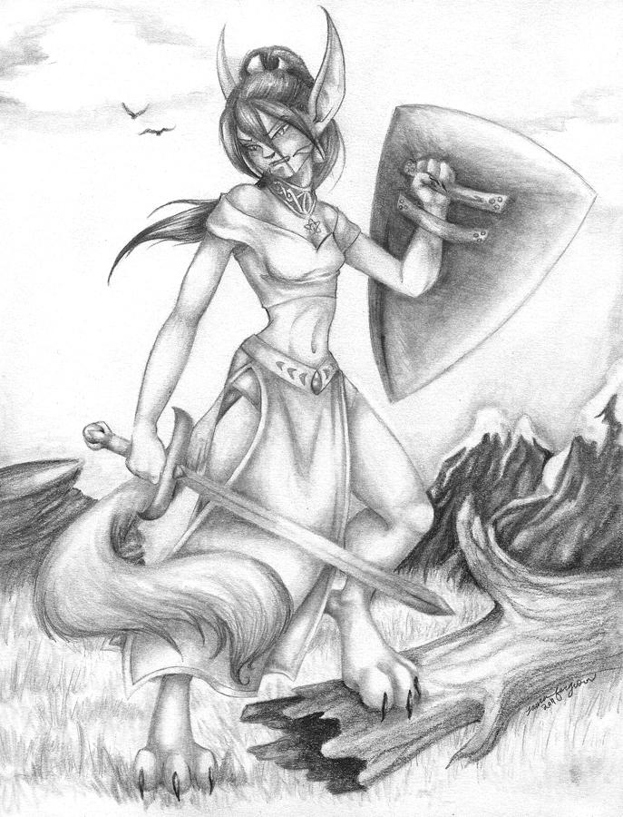 Warrior Mrinx by mrinx