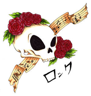 Skulls and Roses Rock