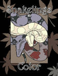 Snakelings Coloring Book Cover