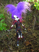 Undead Rogue Harlequin - Monster High Custom 3 by mrinx
