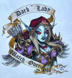 Dark Lady Watch Over You