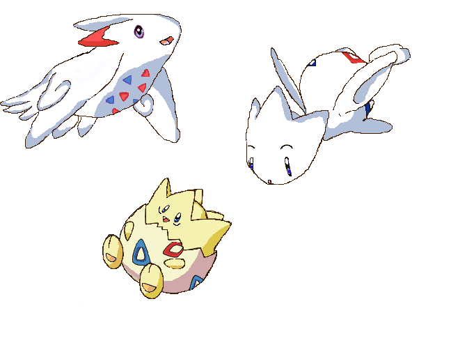 Pokemon Togetic Evolution Images | Pokemon Images