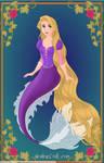 -Rapunzel- Disney Mermaids