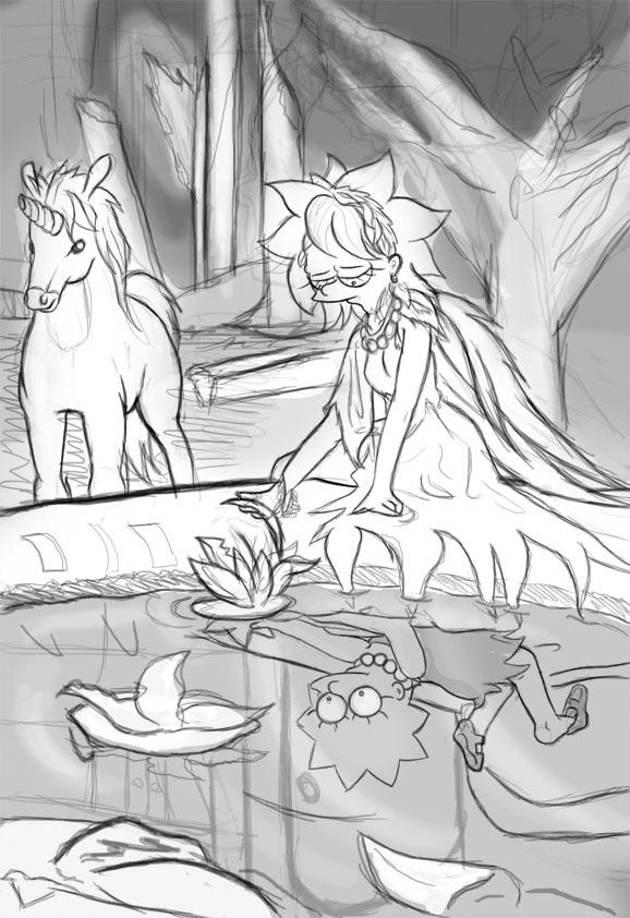 Avalon - Sketch by Simpreal