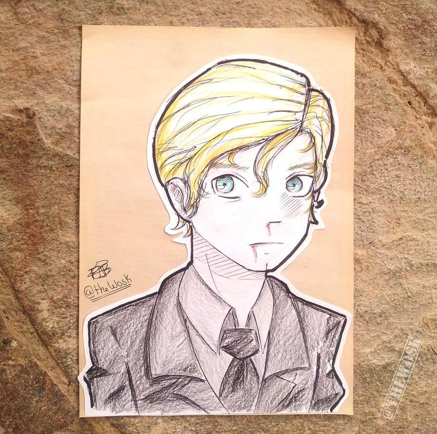 Draco Malfoy by TheWosk