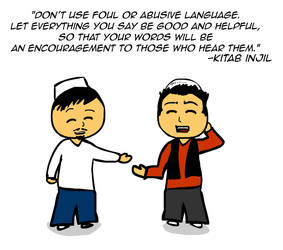 Foul and abusive language