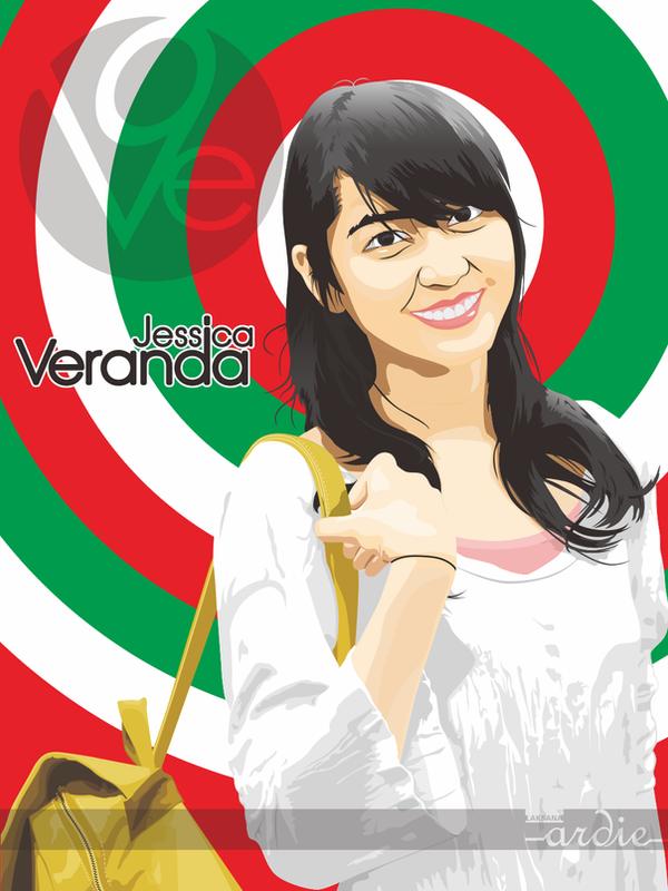 Jessica Veranda in vector by laksanardie