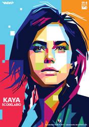 Kaya Scodelario by laksanardie