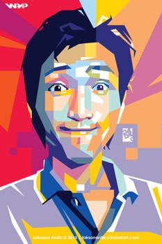 Self Portrait in Wedha's Pop Art Portrait style