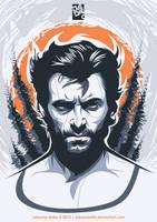 Wolverine Portrait by laksanardie