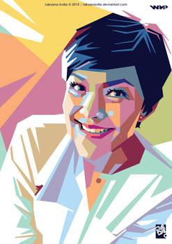 Lucy Wiryono Portrait WPAP
