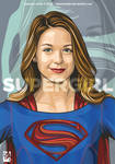 Mellisa Benoist as Supergirl
