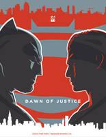 Dawn Of Justice Alternative Movie Poster by laksanardie
