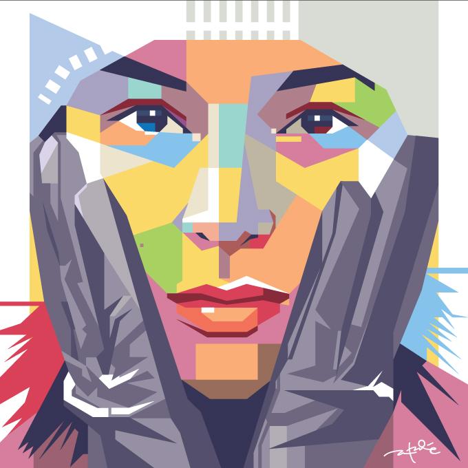 Chelsea Square Pop Art by laksanardie