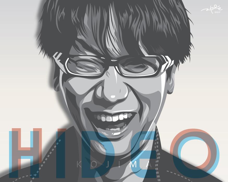 Hideo Kojima by laksanardie