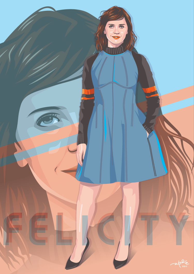 Felicity Jones by laksanardie