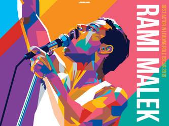 Rami Malek by laksanardie