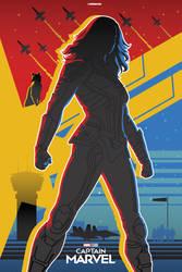 Captain Marvel Alternate Poster