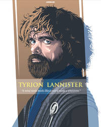 Tyrion Lannister by laksanardie