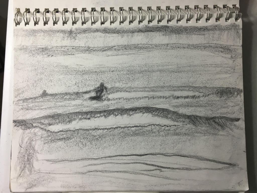 Surfer by ldjessee