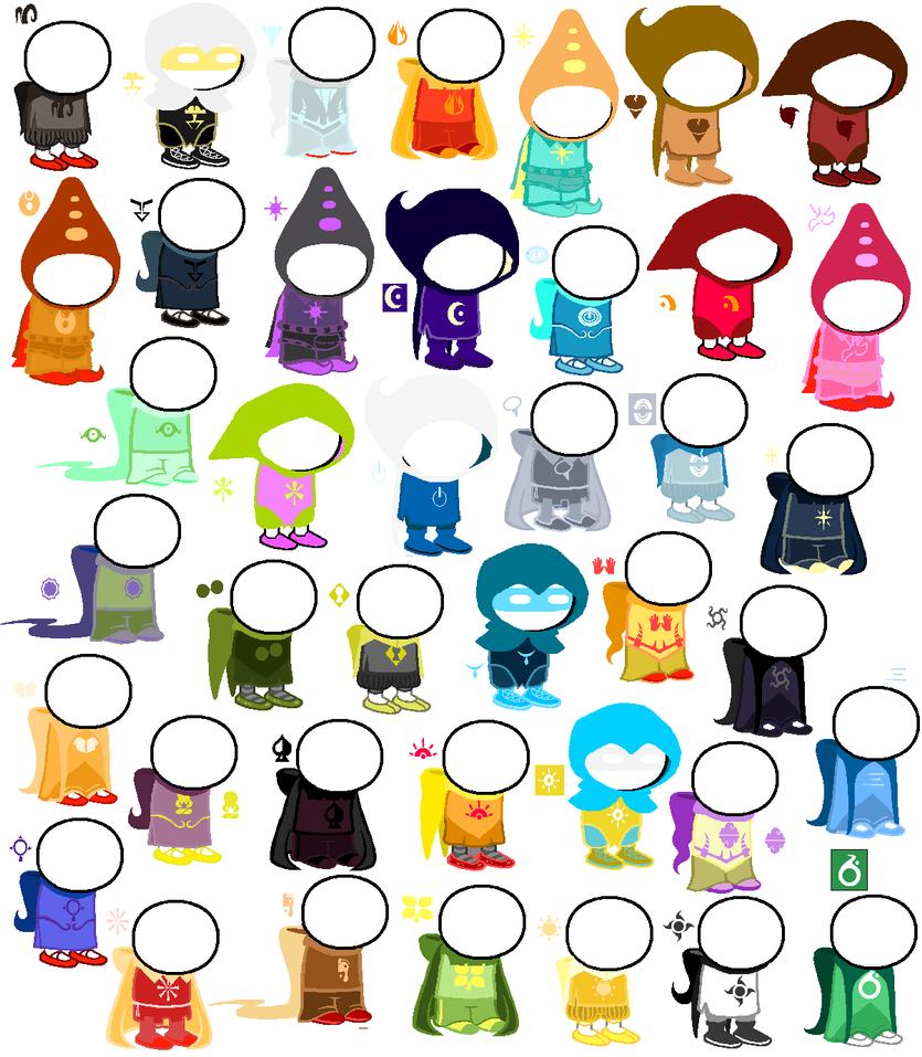 Homestuck Fan God-Tier Colors by Homestucking-Girl on ... Homestuck God Tier Aspect