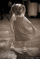 Dancing little girl by SilverWaves